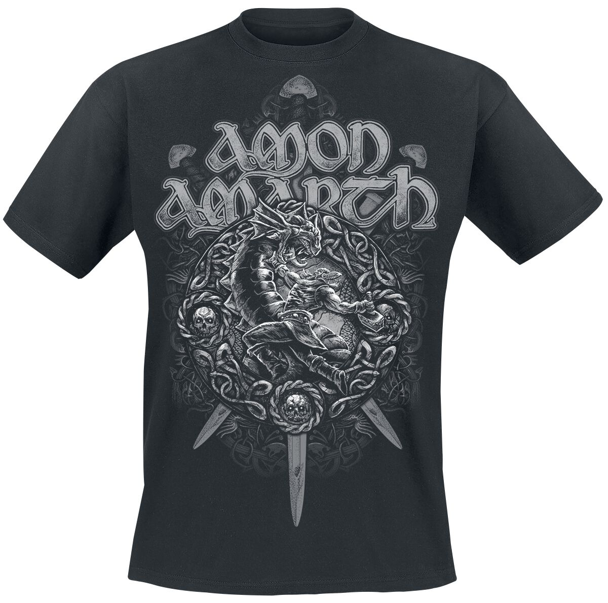Image of   Amon Amarth Ragnarok T-Shirt sort