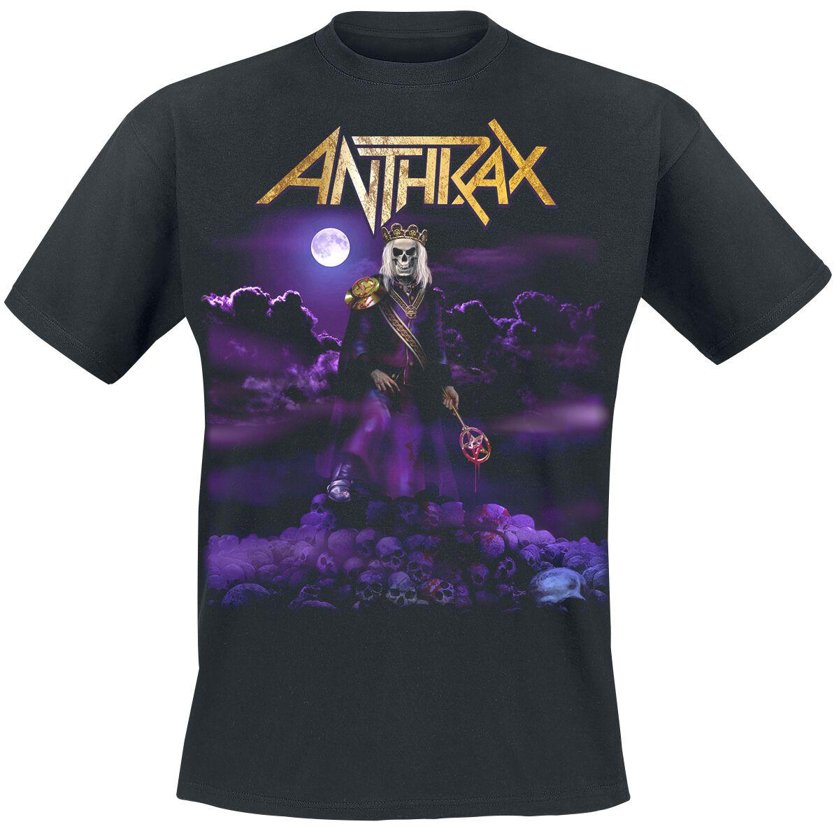 Zespoły - Koszulki - T-Shirt Anthrax Suzerain T-Shirt czarny - 360110
