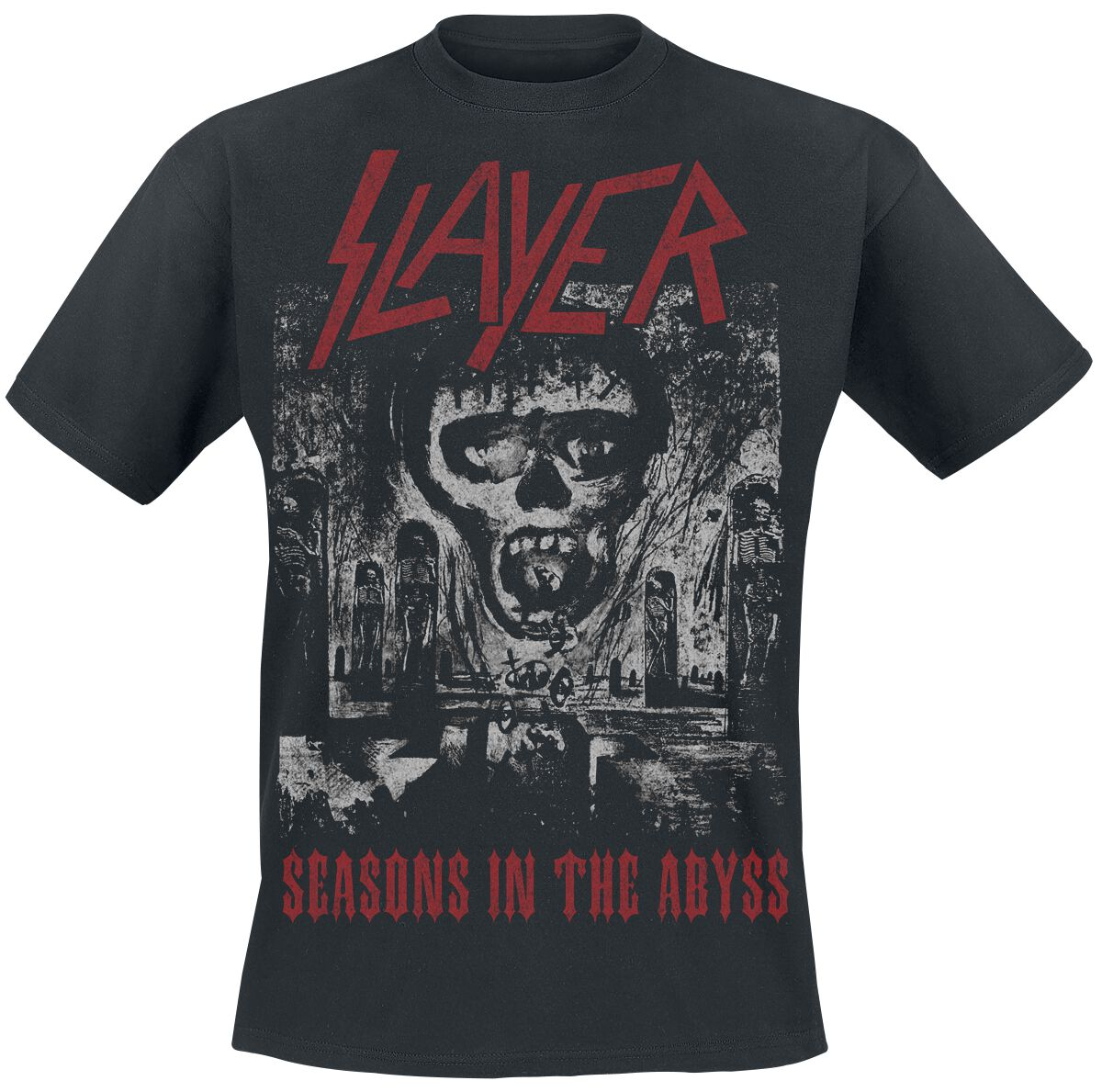 Image of   Slayer Seasons In The Abyss T-Shirt sort
