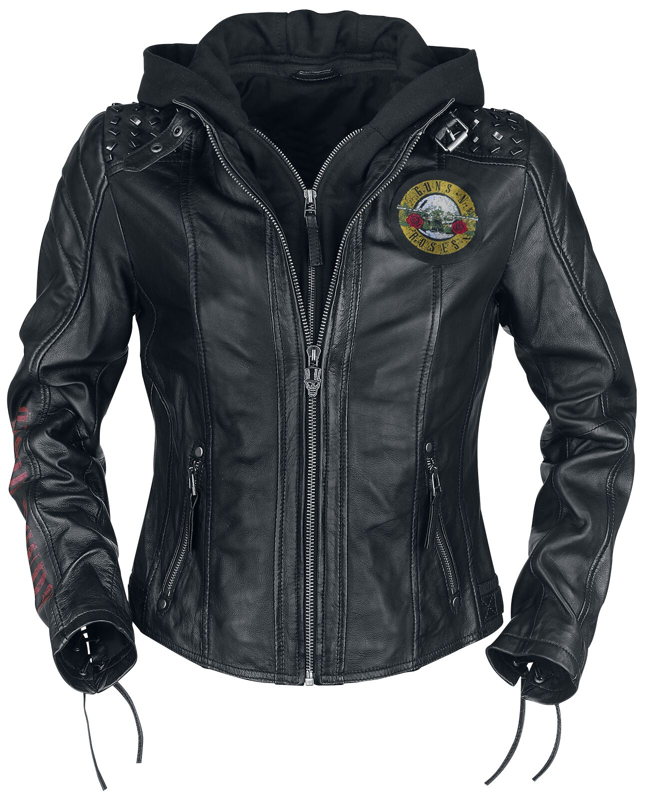 Image of   Guns N' Roses EMP Signature Collection Girlie læderjakke sort