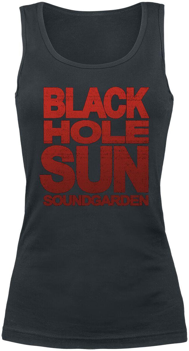 Zespoły - Topy - Top damski Soundgarden Black Hole Sun Top damski czarny - 360221