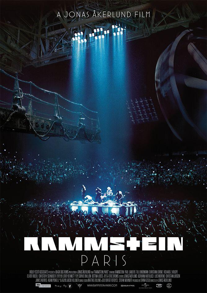 Image of   Rammstein Paris Plakat multifarvet