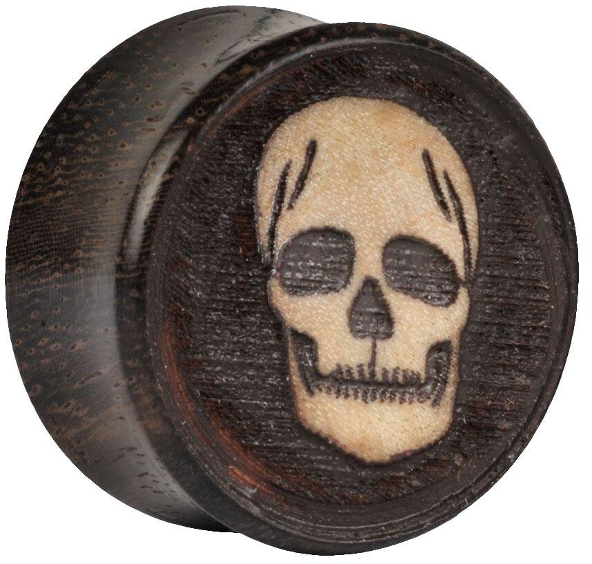 Image of   Wildcat Old Skull on Sono 3D Plugs brun