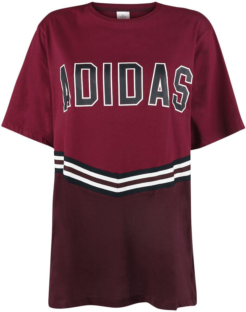 Image of   Adidas Adibreak SS Tee Girlie trøje burgundy