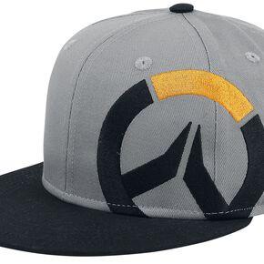 Overwatch Logo Casquette Snapback gris chiné/noir