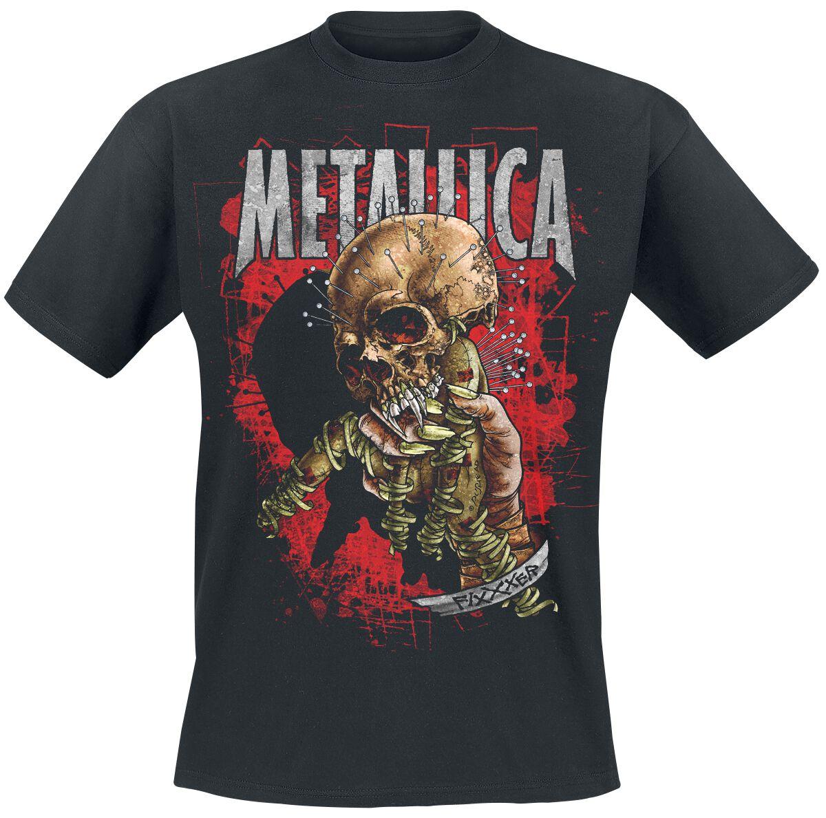 Metallica Fixxer - Männer - schwarz