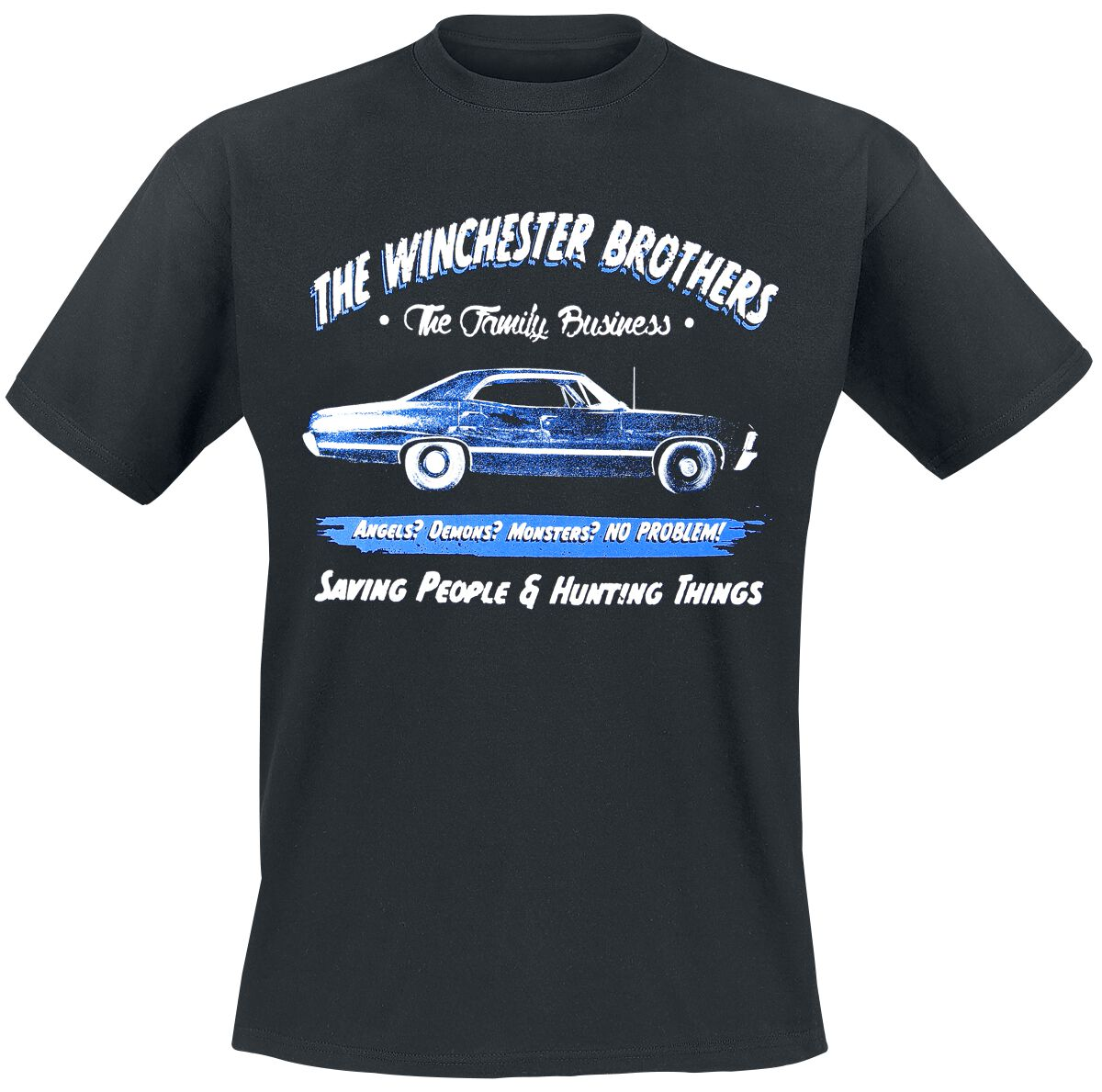 Image of   Supernatural Winchester Brothers Since 1979 T-Shirt sort