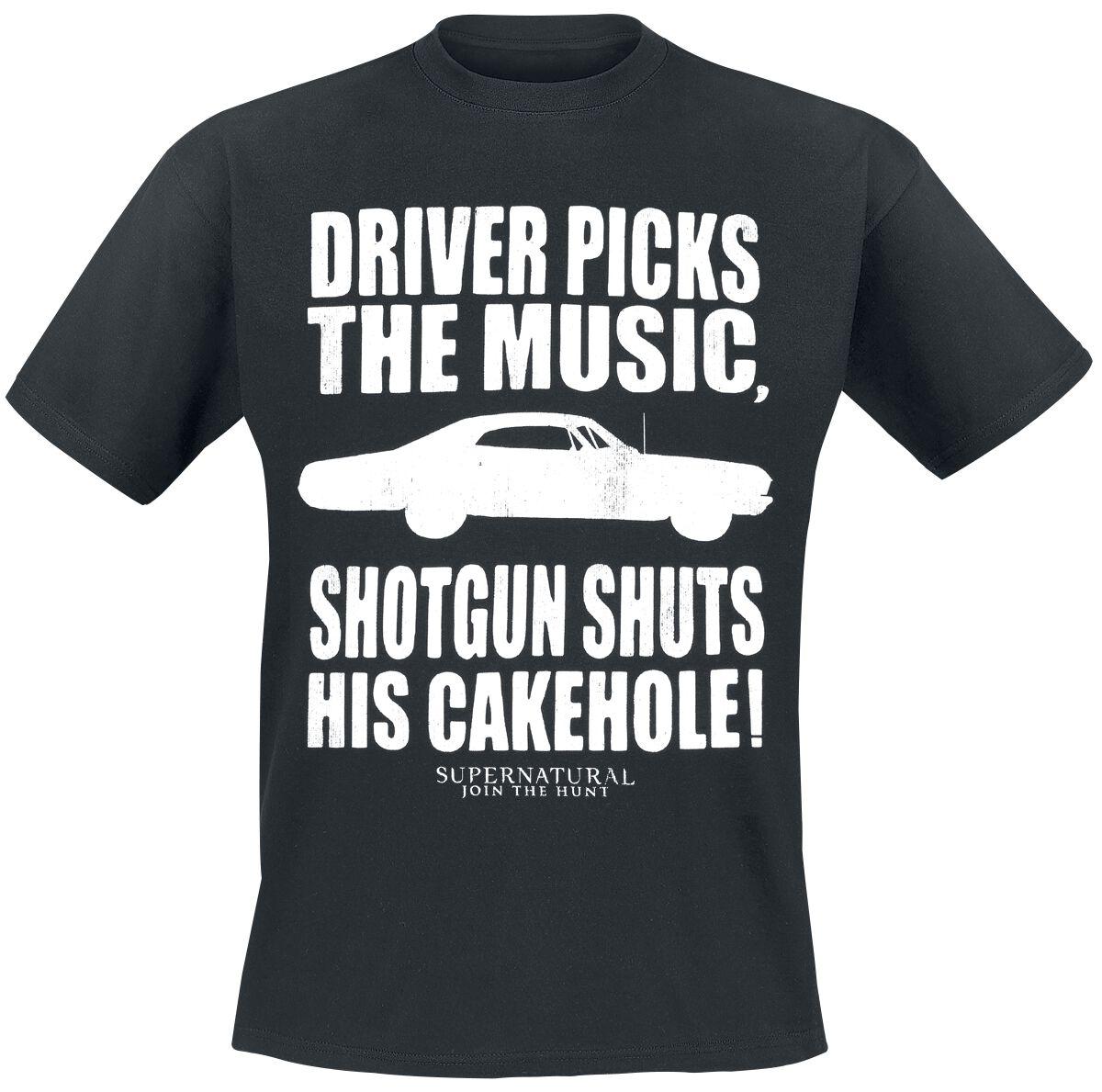 Image of   Supernatural Shotgun Shuts T-Shirt sort