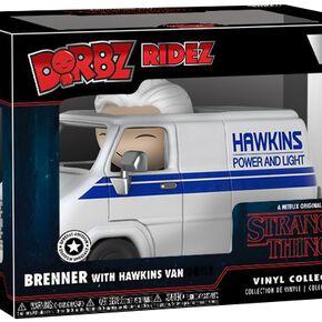 Figurine Dorbz Brenner & Hawkins Van Stranger Things