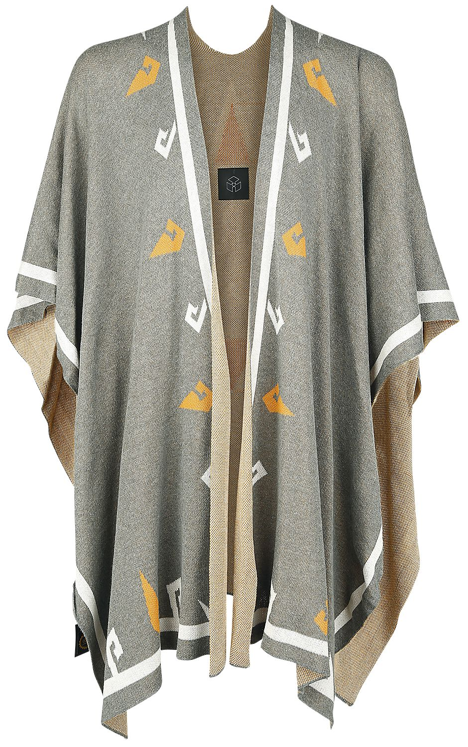 Image of   The Legend Of Zelda Musterbrand - Breath Of The Wild - Hylian Poncho multifarvet