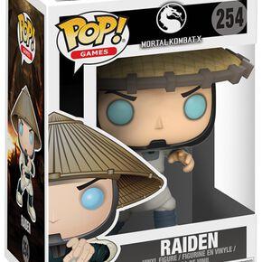 Figurine Pop! Raiden Mortal Kombat ou Variante Chase