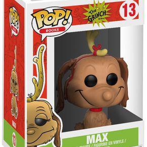 Figurine Pop! Le Grinch Max le Chien
