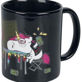 Unicorn Festival Unicorn Mug noir