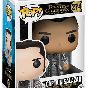 Figurine Funko Pop! Pirates des Caraïbes Capitaine Salazar