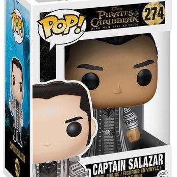 Figurine Funko Pop! Pirates des Caraïbes Capitaine Salazar
