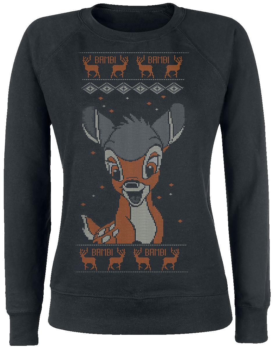 Bambi Hello Bluza damska czarny