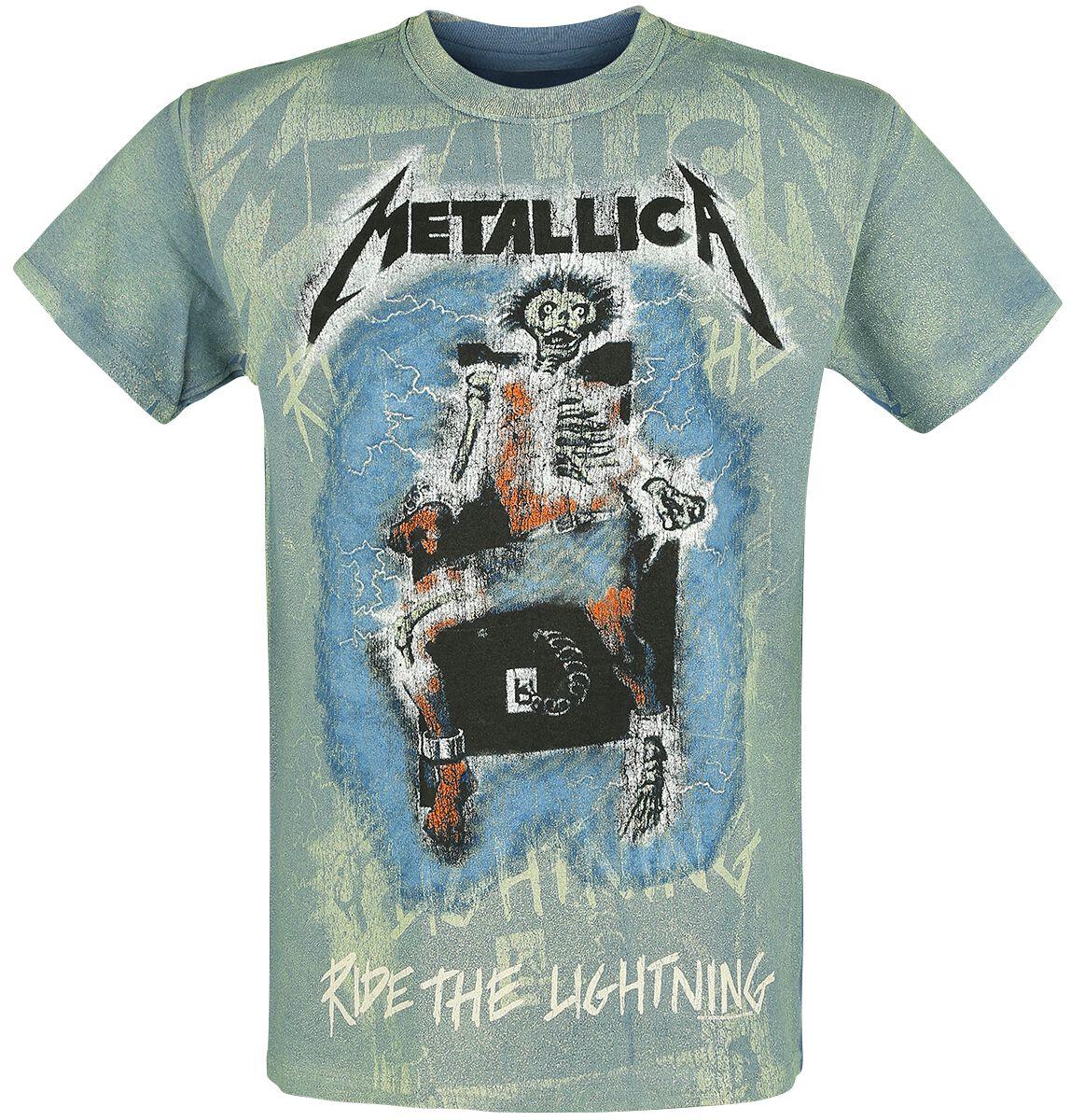 Metallica Ride The Lighting - Allover - Männer - blau