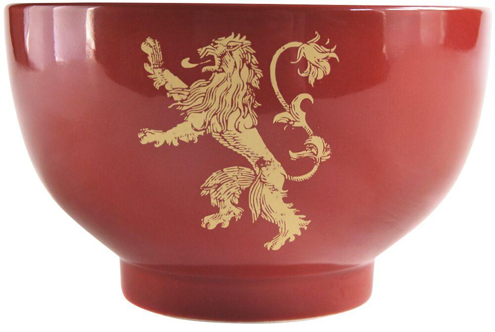 Image of   Game Of Thrones House Lannister Dyb tallerken rød-gul
