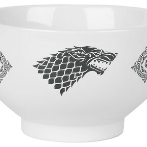 Game Of Thrones Crest Bol céréales noir/blanc