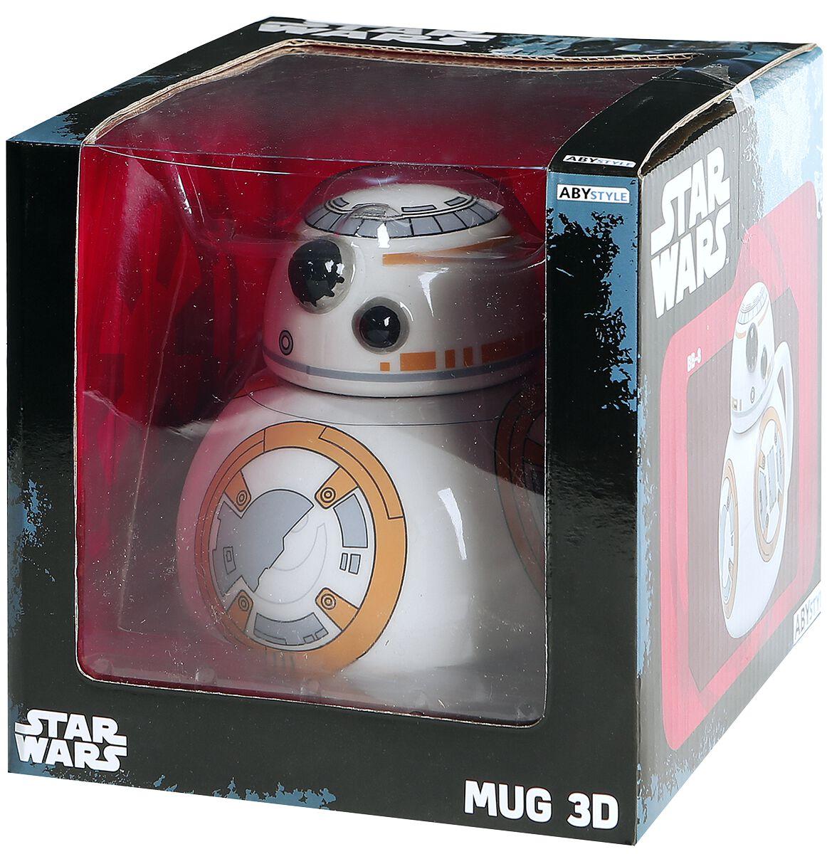 Image of   Star Wars BB-8 - 3D Keramisk krus multifarvet