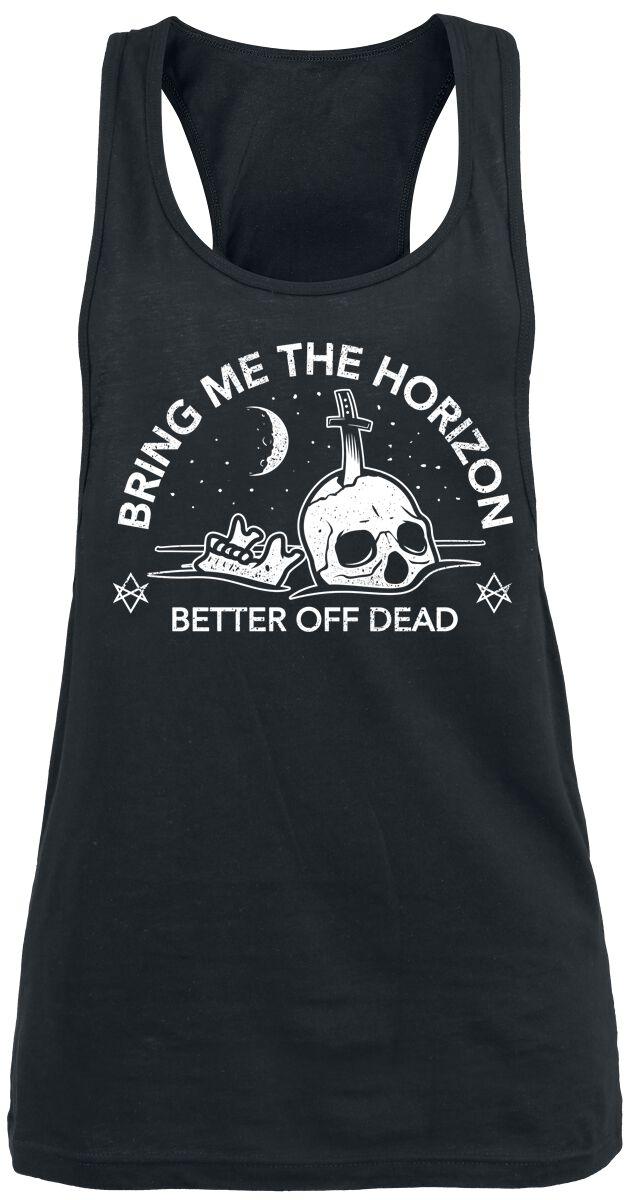 Image of   Bring Me The Horizon Better Off Dead Girlie top sort