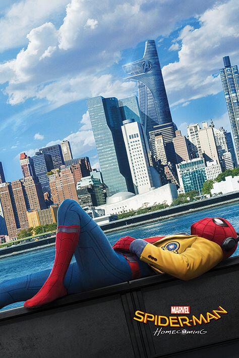 Image of   Spiderman Homecoming - Teaser Plakat multifarvet