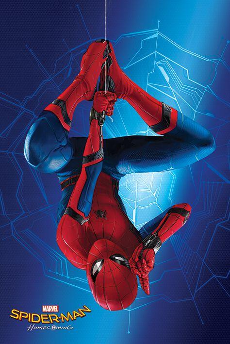 Image of   Spiderman Homecoming - Hang Plakat multifarvet