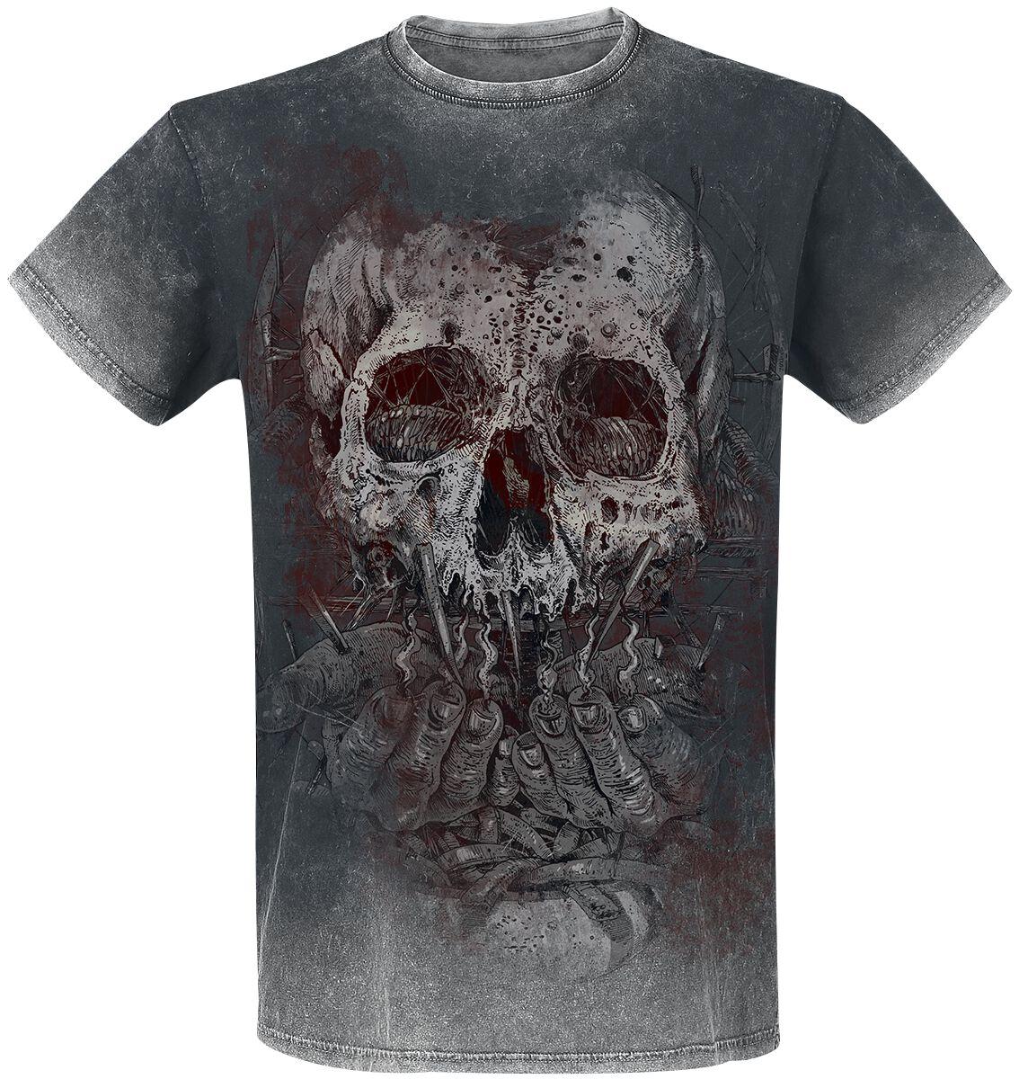 Black Premium by EMP Rebel Soul T-Shirt grau