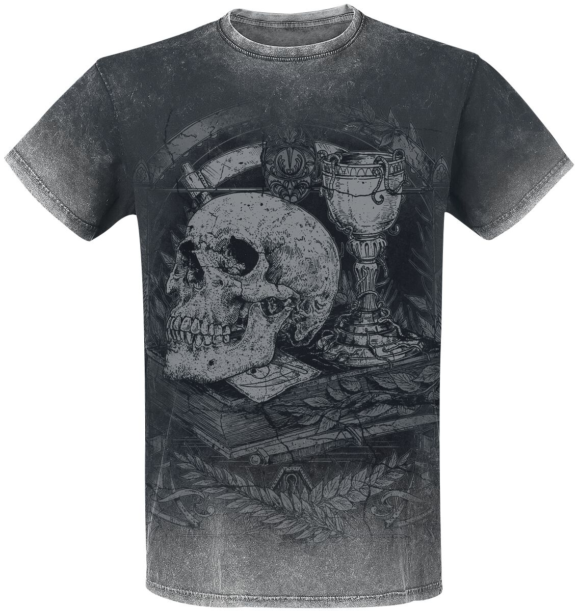 Image of   Gothicana by EMP Chalice Of Death T-Shirt grå