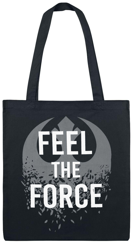Star Wars Feel The Force Stofftasche schwarz/weiß