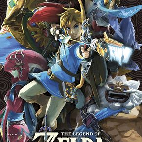 The Legend Of Zelda Breath Of The Wild - Créatures Divines Poster multicolore