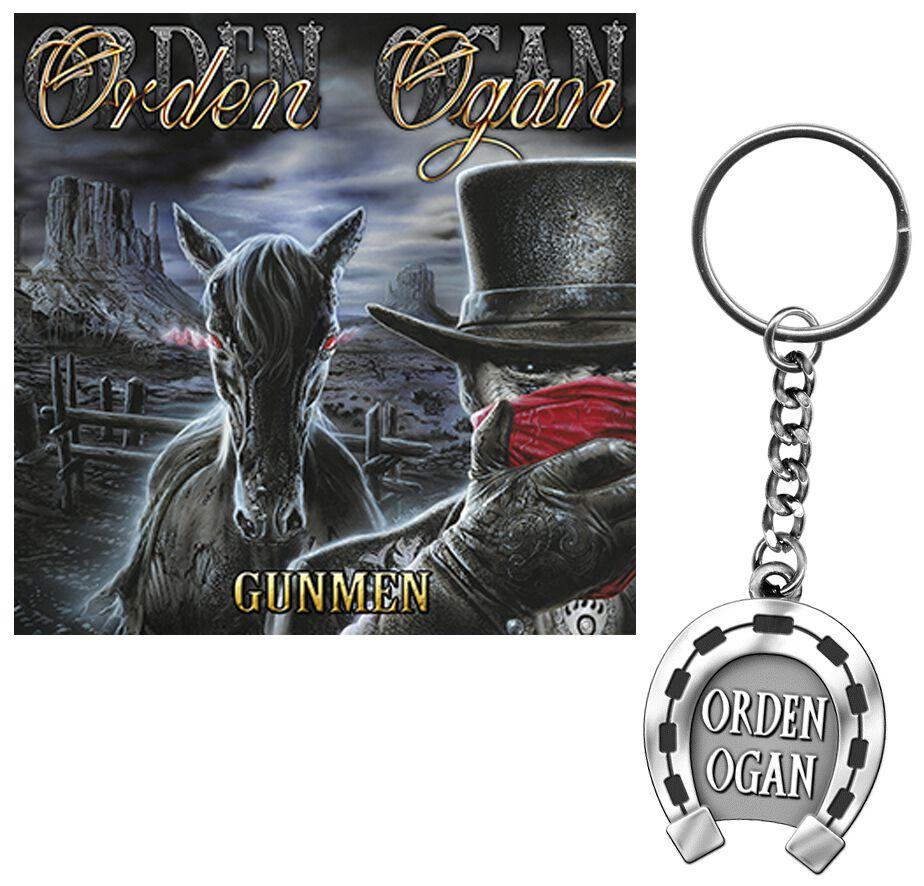 Image of   Orden Ogan Gunmen CD & DVD & nøglering standard