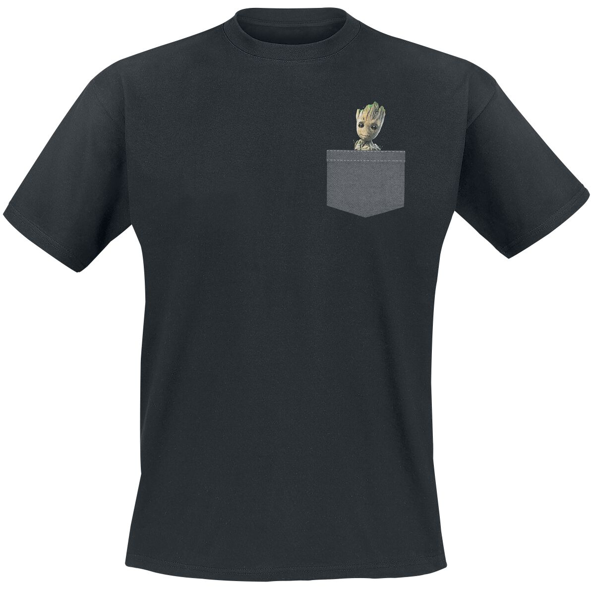 Image of   Guardians Of The Galaxy 2 - Groot T-Shirt sort