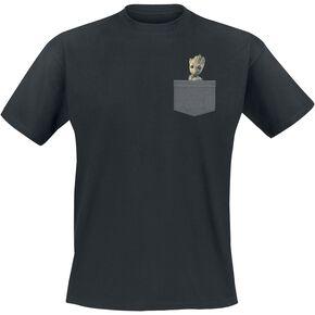 Les Gardiens De La Galaxie 2 - Groot T-shirt noir