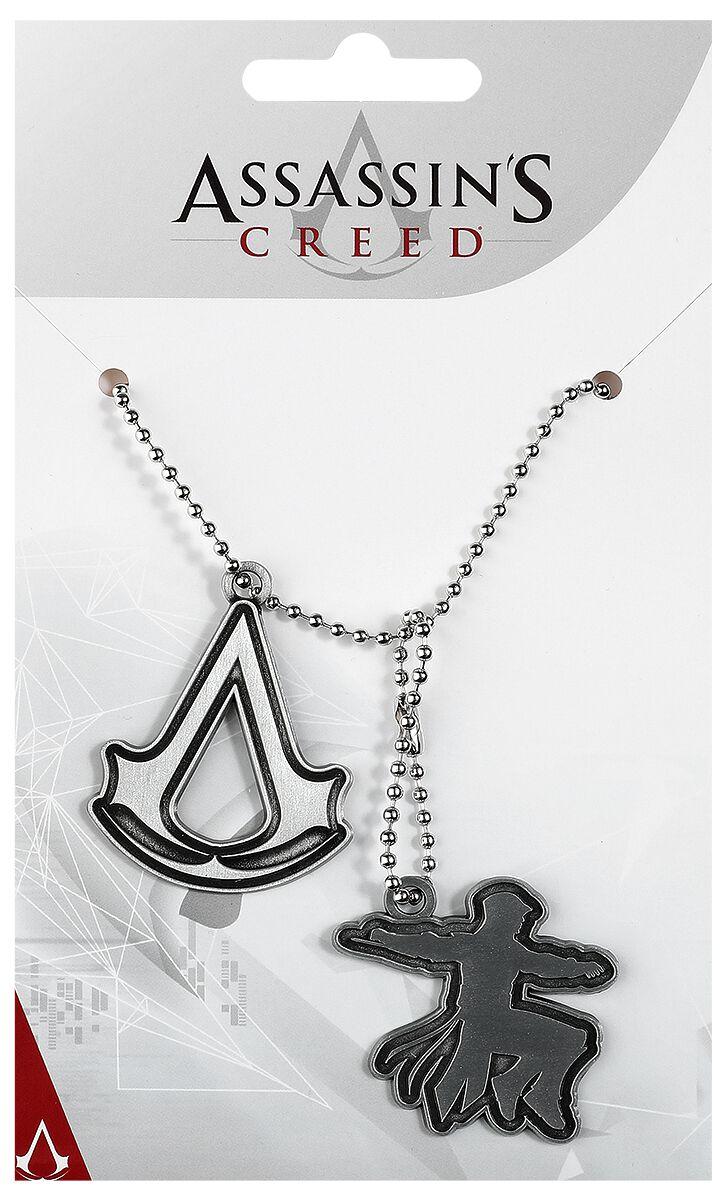 Image of   Assassin's Creed Logo Dogtag Mat stål