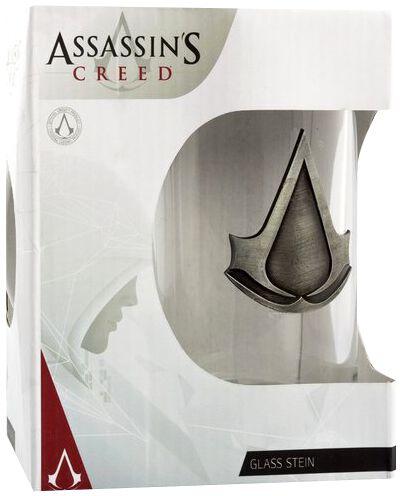 Image of   Assassin's Creed Logo Ølkrus gennemsigtig