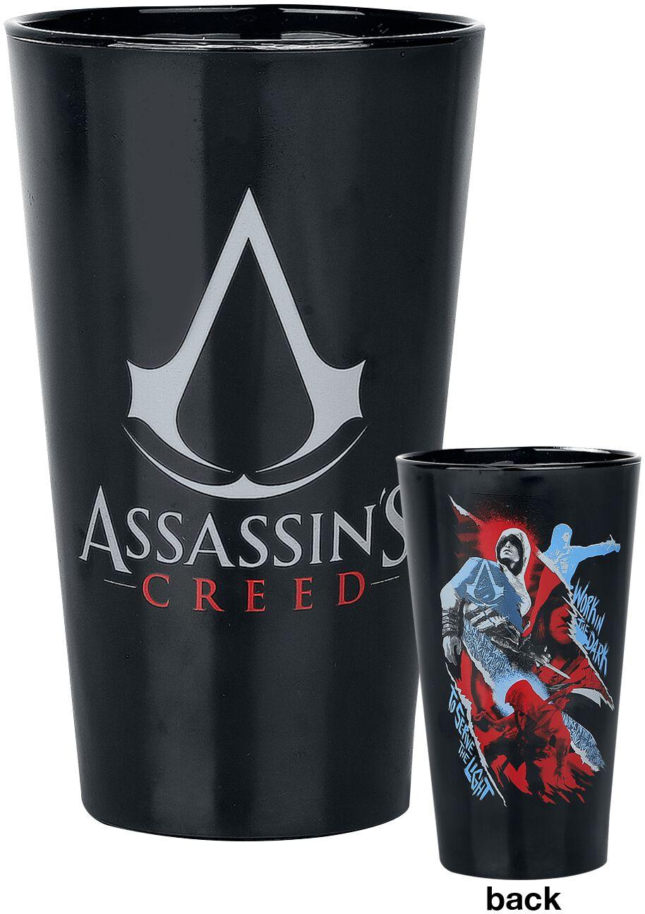 Image of   Assassin's Creed Assassins Ølglas sort