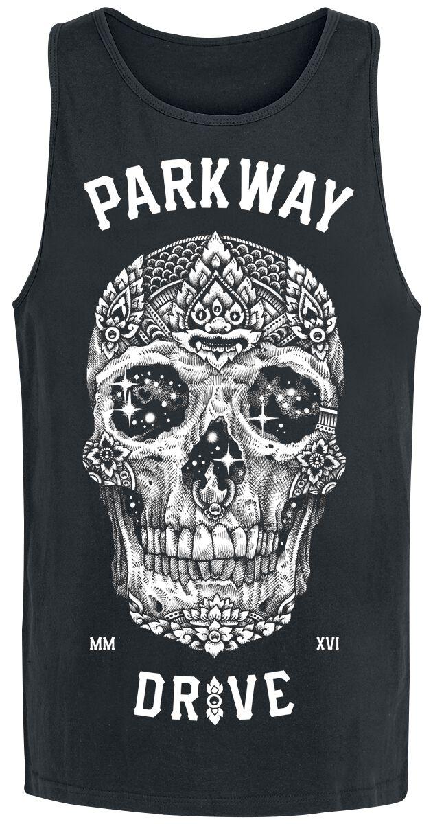 Image of   Parkway Drive Skull Tanktop sort