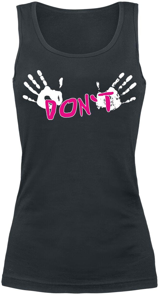 Fun Shirts - Topy - Top damski Don`t ... Top damski czarny - 361123