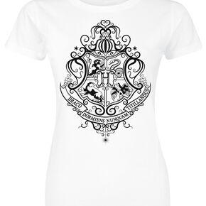 Harry Potter Poudlard Impression UV T-shirt Femme blanc