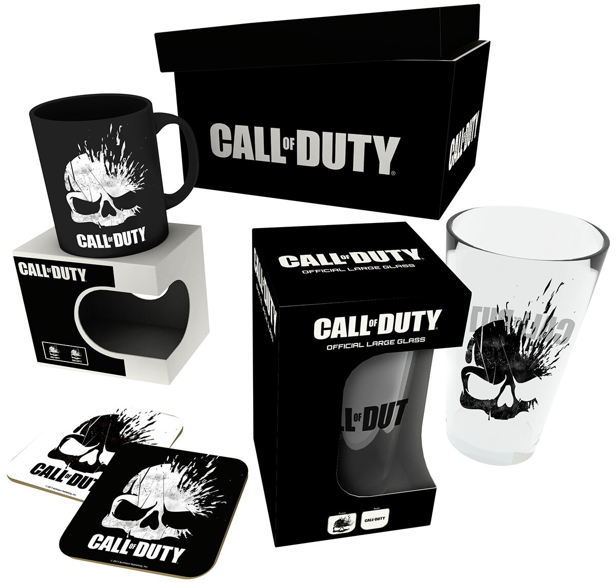 Merch dla Fanów - Fan Package - Fan Package Call Of Duty Skull Logo - Fanpaket Fan Package wielokolorowy - 361173