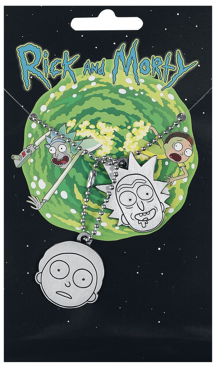 Image of   Rick And Morty Rick und Morty Dogtag Mat stål