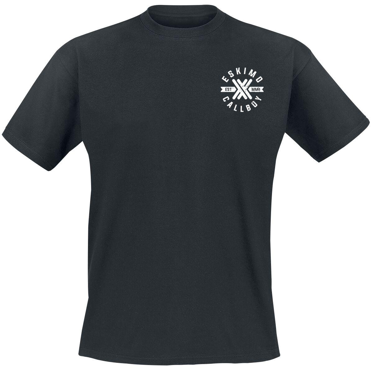 Zespoły - Koszulki - T-Shirt Eskimo Callboy Dead Snake T-Shirt czarny - 361214