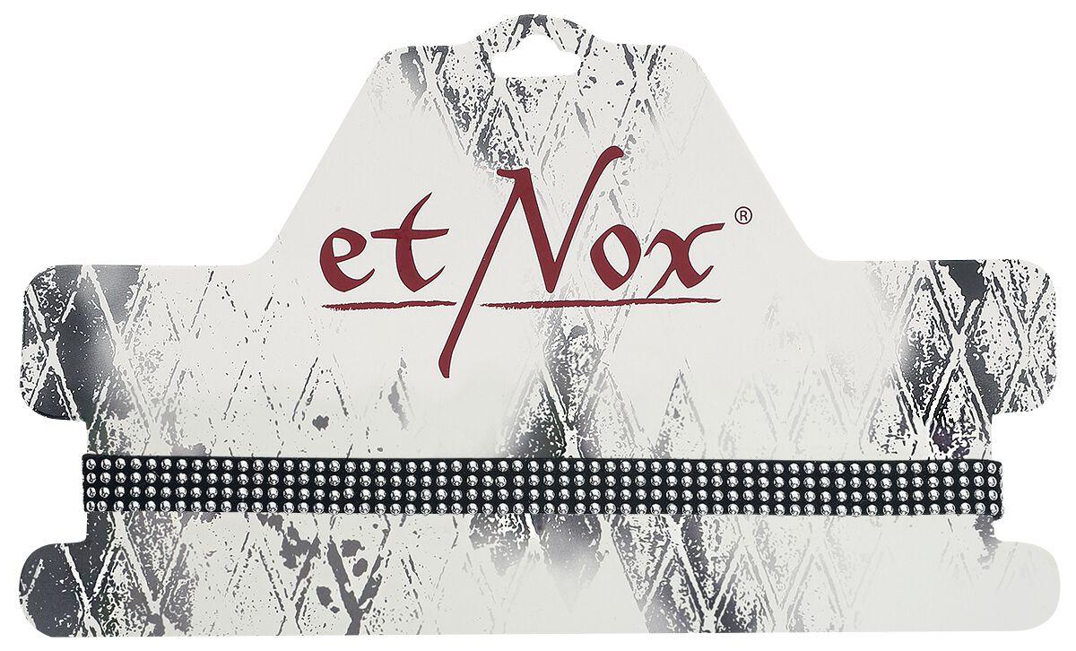 Basics - Naszyjniki - Naszyjnik etNox Studs Naszyjnik czarny/odcienie srebrnego - 361251