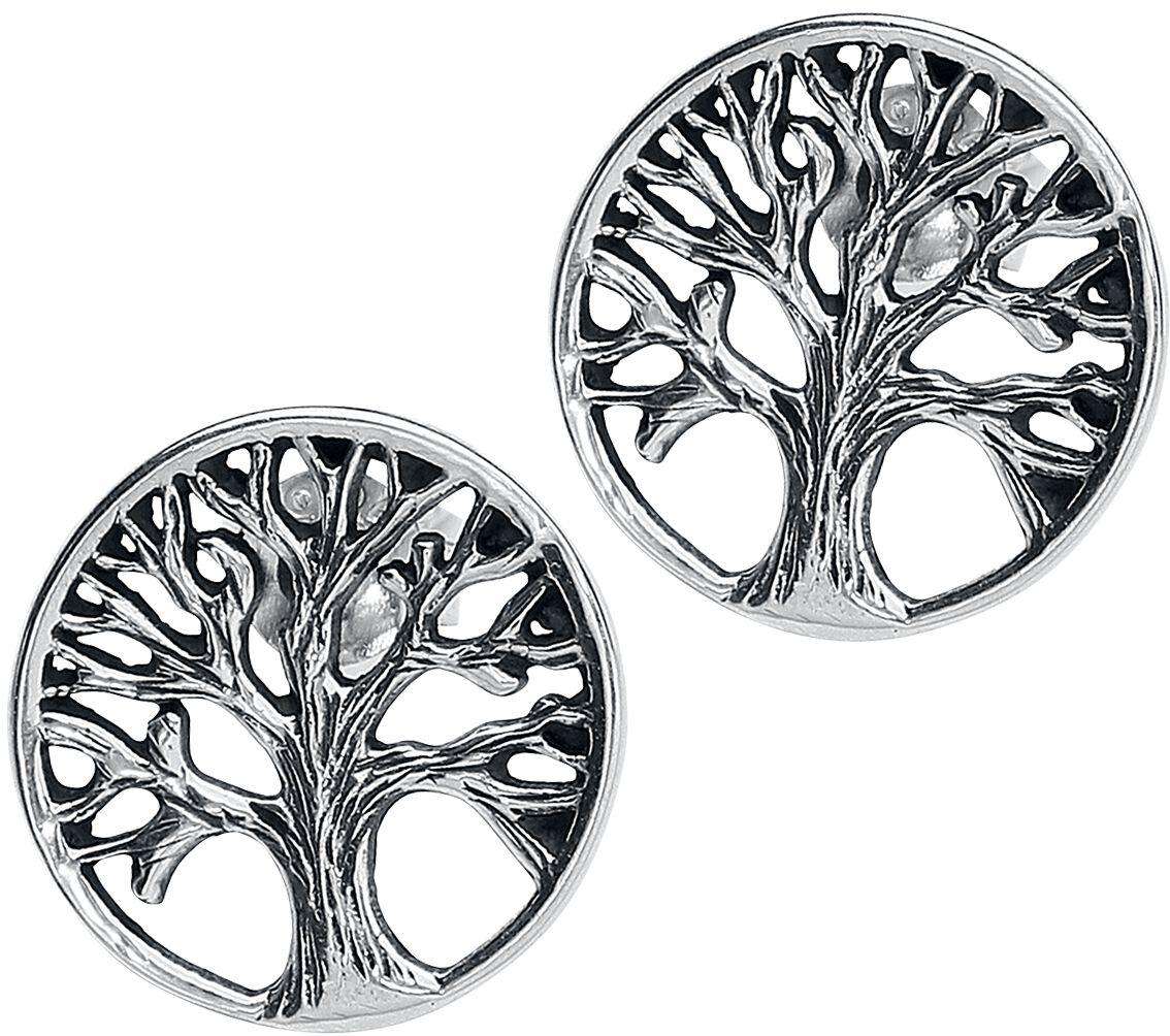 Basics - Kolczyki - Kolczyki - Earpin Tree of Life Kolczyki - Earpin srebrny - 361301