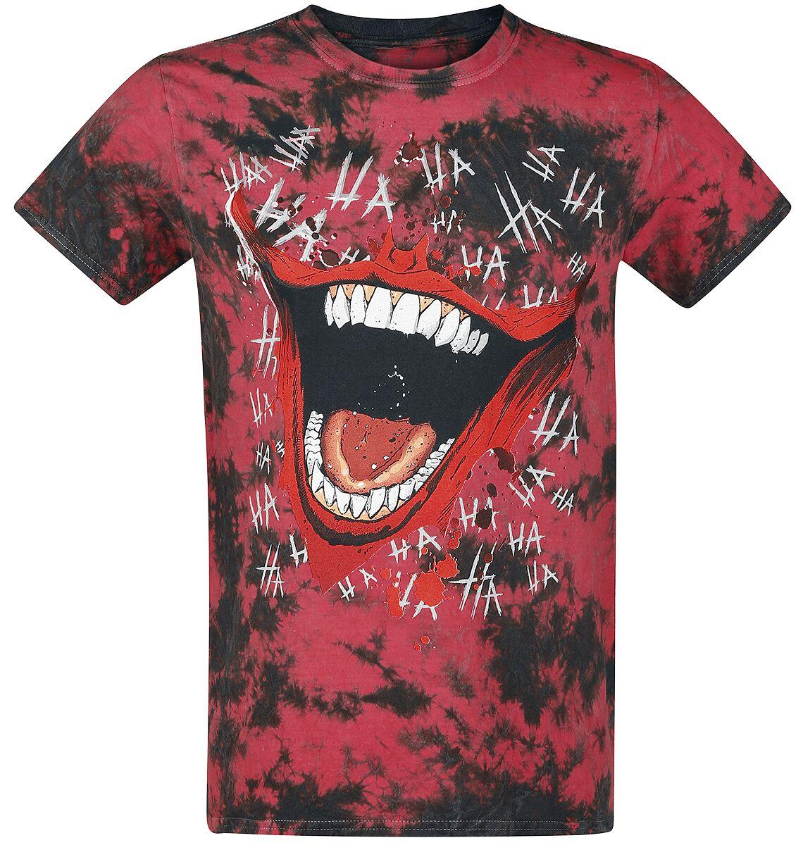 Merch dla Fanów - Koszulki - T-Shirt The Joker Hahaha T-Shirt wielokolorowy - 361335