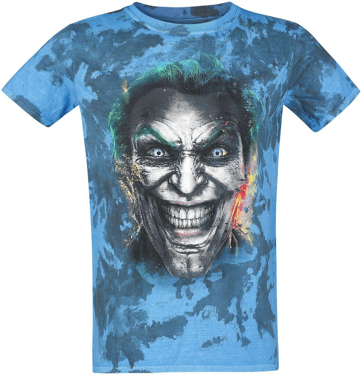 Merch dla Fanów - Koszulki - T-Shirt The Joker Fratze T-Shirt wielokolorowy - 361341