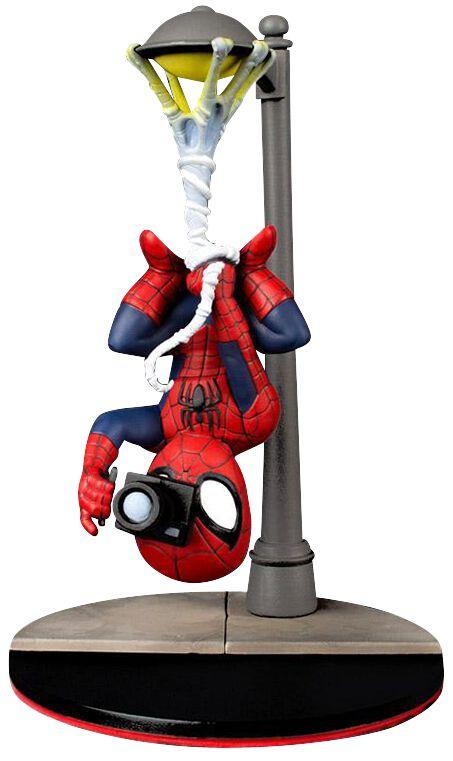 Image of   Spiderman Q-Figur Spider Cam (Diorama) Samlefigur Standard