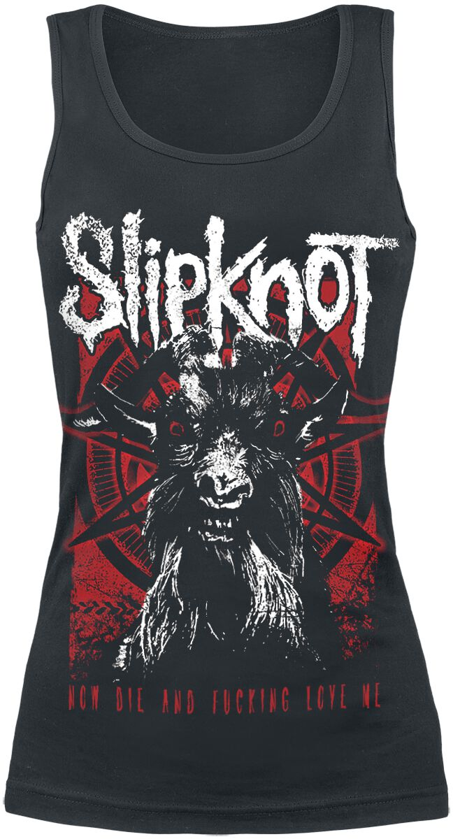 Image of   Slipknot Goat Thresh Girlie top sort