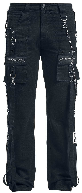 Image of   Fashion Victim Strap Jeans Girlie bukser sort